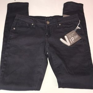 Women's VIP Navy Blue Skinny Jeans Size 3/4